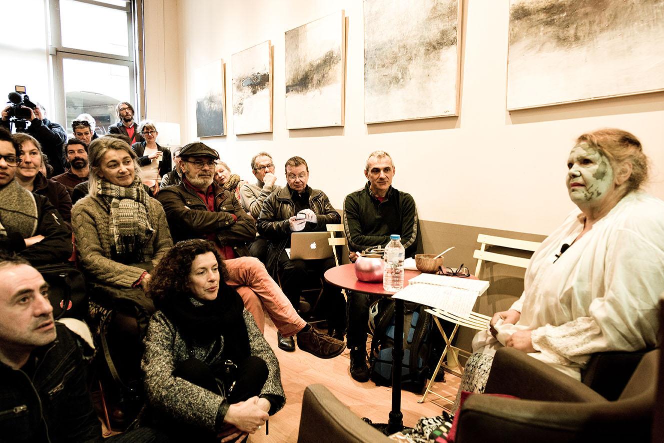 Réveil Créatif 49 avec Solange Oswald à Ombres Blanches mars 2017