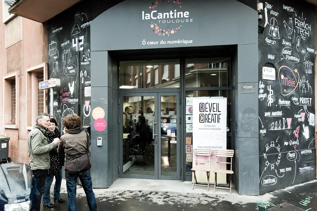 Réveil Créatif 57 avec William Perucca à La Cantine 17 janvier 2018
