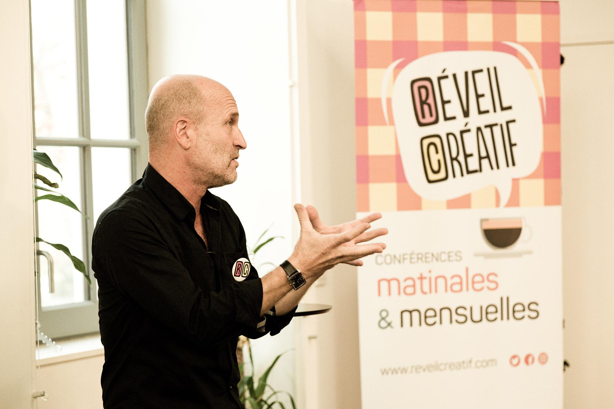 Réveil Créatif 65 avec Gilles ColliardQuai Des Savoirs28 novembre 2018
