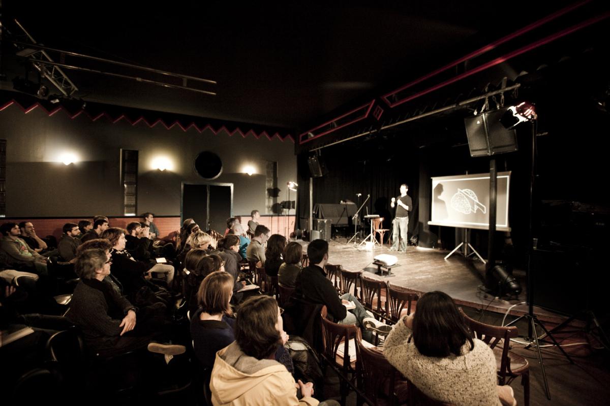 RŽveils CrŽatifs dŽcembre 2012 Le Bijou Toulouse avec Julien Moy